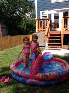 "Almost too big for the ""baby"" pool!"